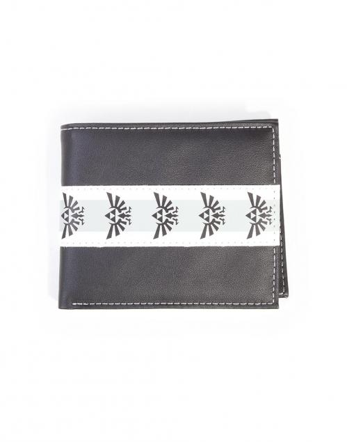 NINTENDO - Zelda Black & White Bifold Men's Wallet - A