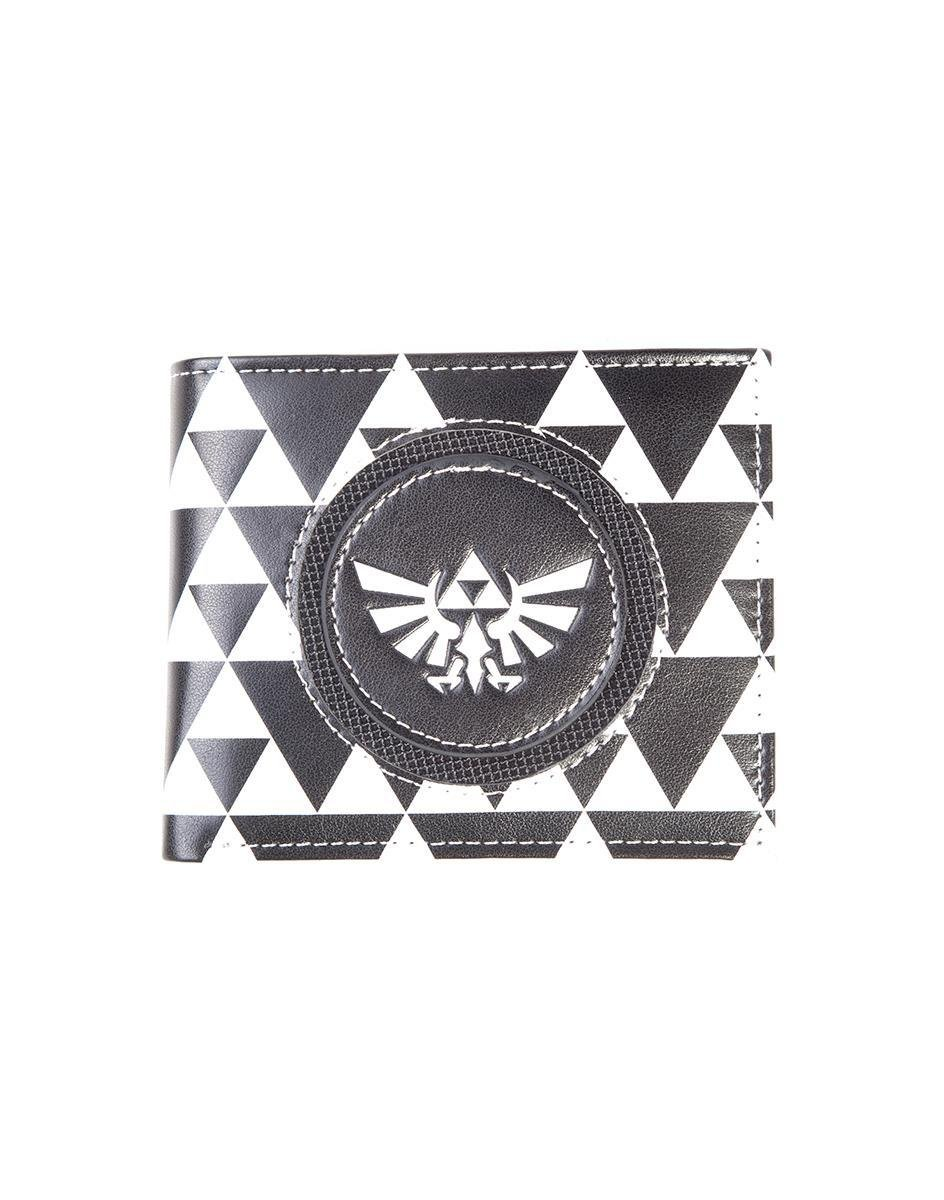 NINTENDO - Zelda Black & White Bifold Men's Wallet - B