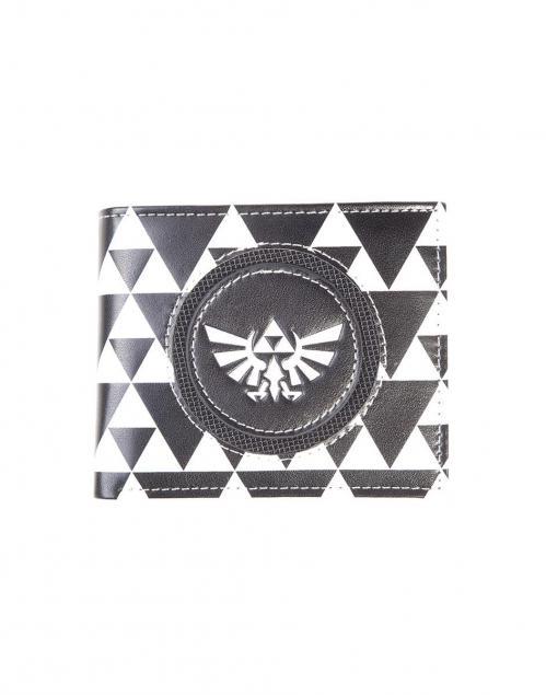 NINTENDO - Zelda Black & White Bifold Men's Wallet - B