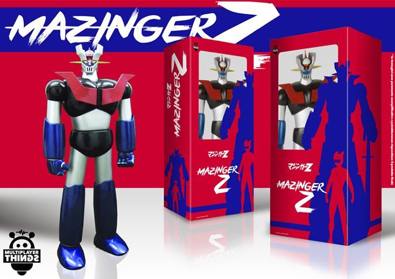 Mazinger Z Vinyl Figure 'Weathering Color' (60 Cm)