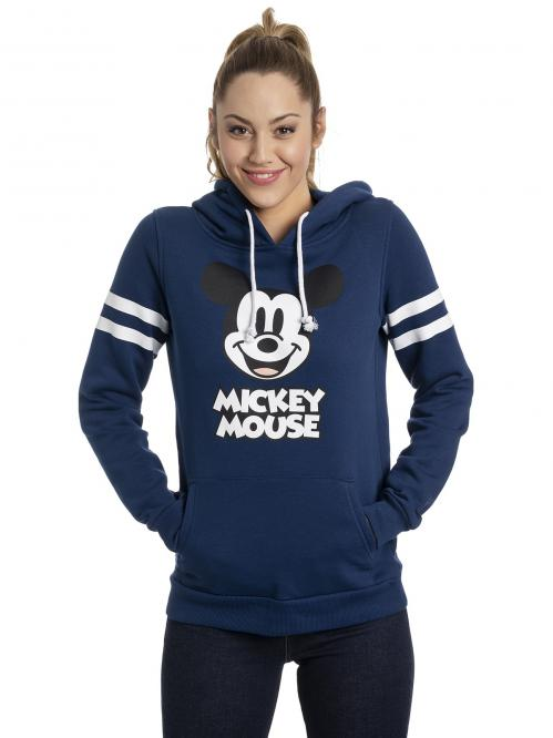 DISNEY - Mickey Mouse Stripes Girl Hoodie (S)