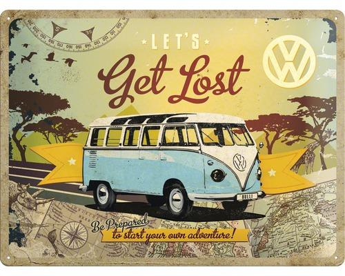 VW - Let's Get Lost - Plaque métal '30x40cm'_1