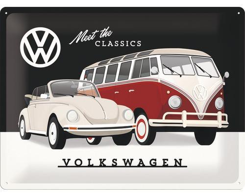 VW - Classics - Plaque métal '30x40cm'_1