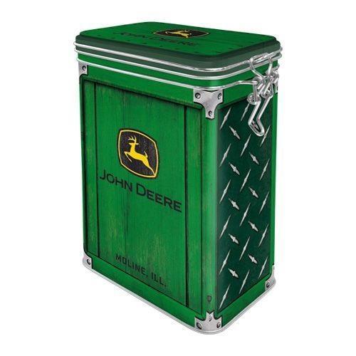 JOHN DEERE - Top Box - Boîte métal '7.5x11x17.5cm'