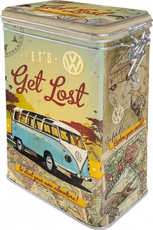 VW - Let's Get Lost - Boîte métal '7.5x11x17.5cm'