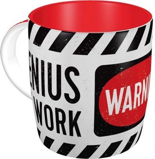 GENIUS AT WORK - Mug 340ml
