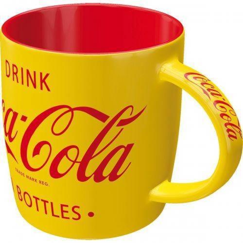COCA-COLA - Yellow - Mug 340ml
