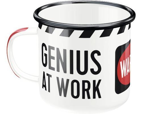 GENIUS AT WORK - Mug émaillé 360ml