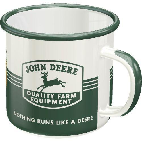 JOHN DEERE - Quality Equipment - Mug émaillé 360ml