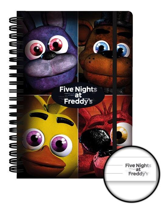 FIVE NIGHTS AT FREDDY'S - Notebook A5 - Quad