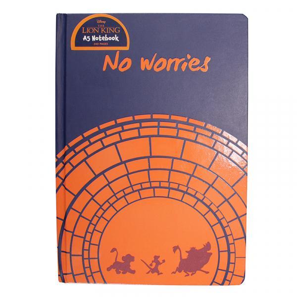 DISNEY - NoteBook A5 - Le Roi Lion 'No Worries'