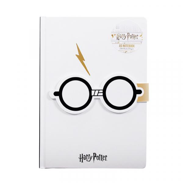 HARRY POTTER - NoteBook A5 - Glasses
