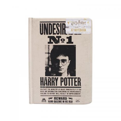 HARRY POTTER - Undesirable N°1 - Notebook A7