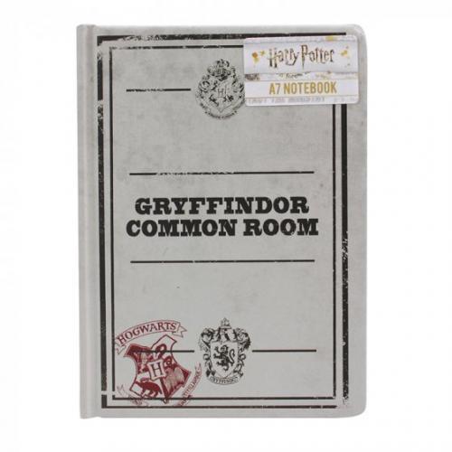 HARRY POTTER - Salle commune gryffondor - Notebook A7