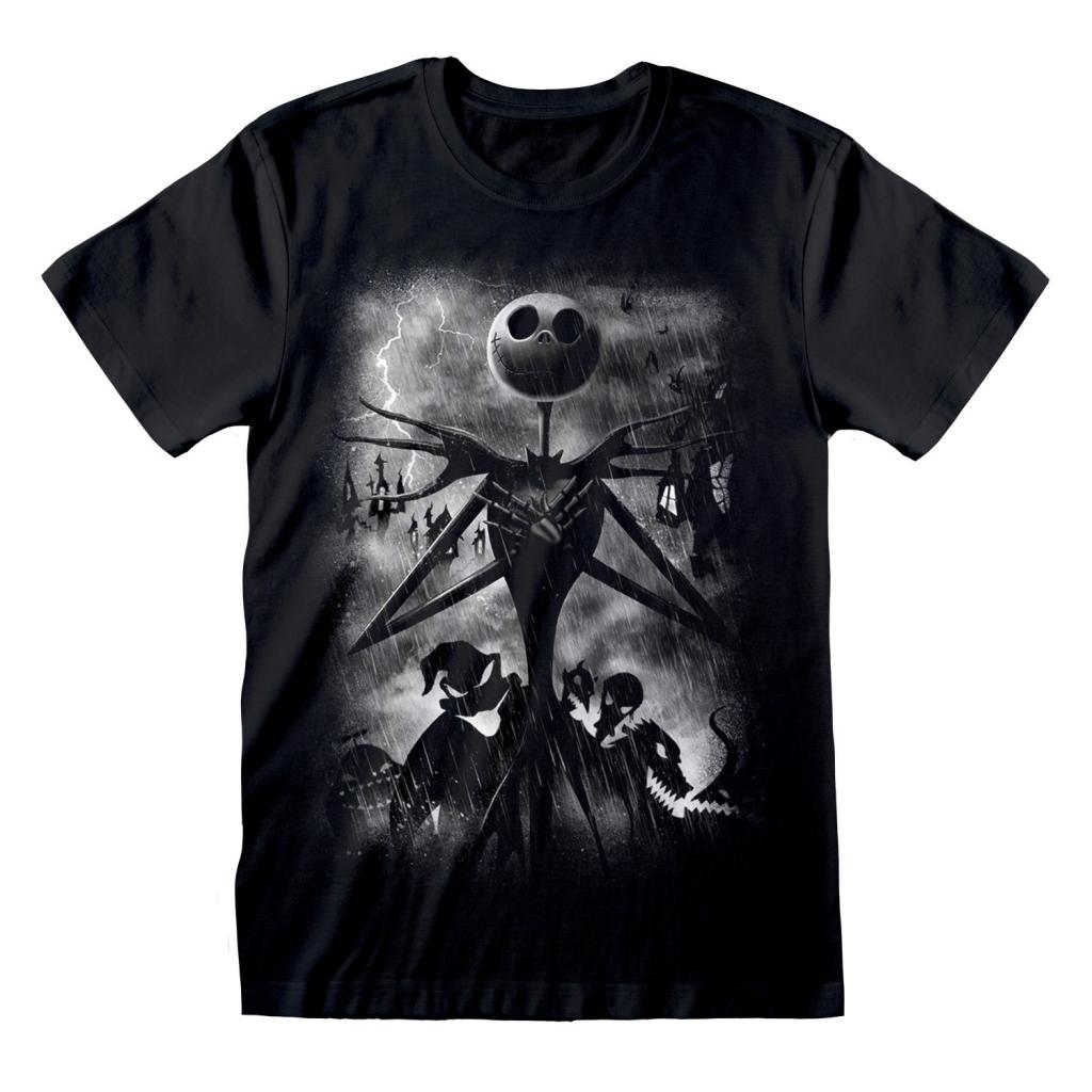 NIGHTMARE BEFORE CHRISTMAS - T-Shirt - Stormy Skies (XL)