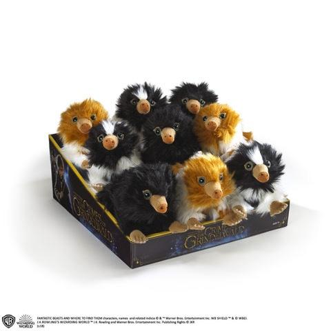 FANTASTIC BEASTS - Display 9 Mini Peluches Bébés Niffleur