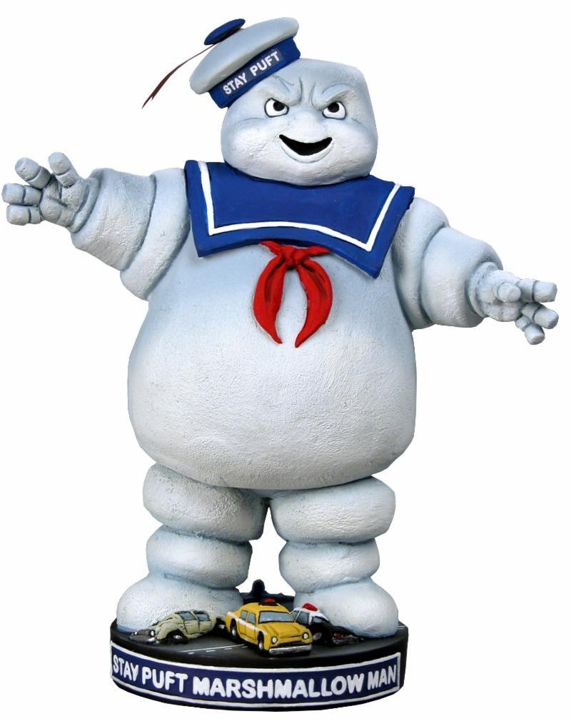 GHOSTBUSTERS - Stay Puft Headknocker - 18cm
