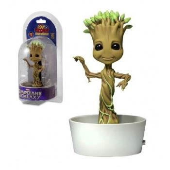 GUARDIANS OF THE GALAXY 2 - Body Knocker Solar Powered - Dancing Groot