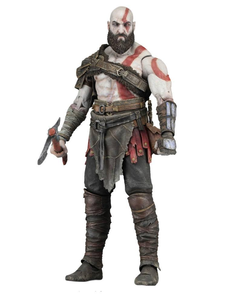 GOD OF WAR 2018 - Kratos 7 inch Action Figure - 18cm