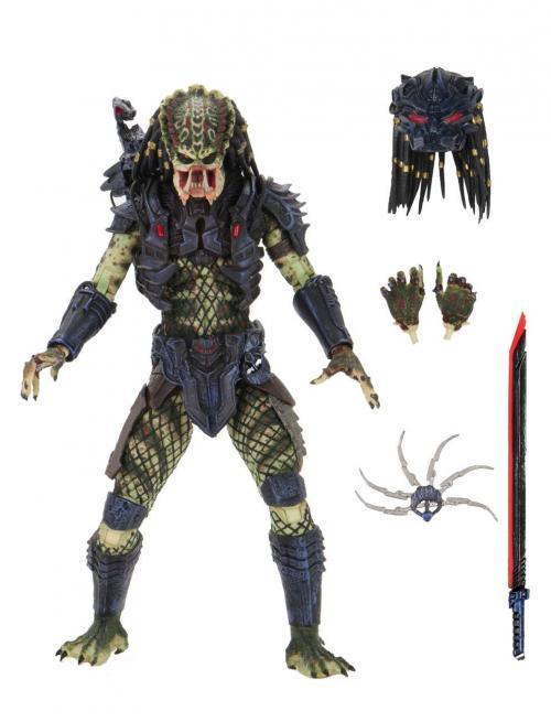PREDATOR 2 - Ultimate Armored Lost Predator - Figurine articulée 20cm