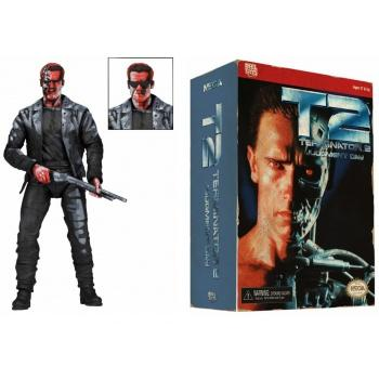 TERMINATOR 2 - Action Figure T-800 Video Game Appearance - 18cm