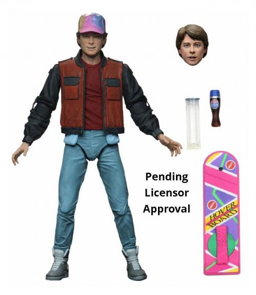 BACK TO THE FUTURE 2 - Ultimate Marty McFly - Figurine articulée 18cm
