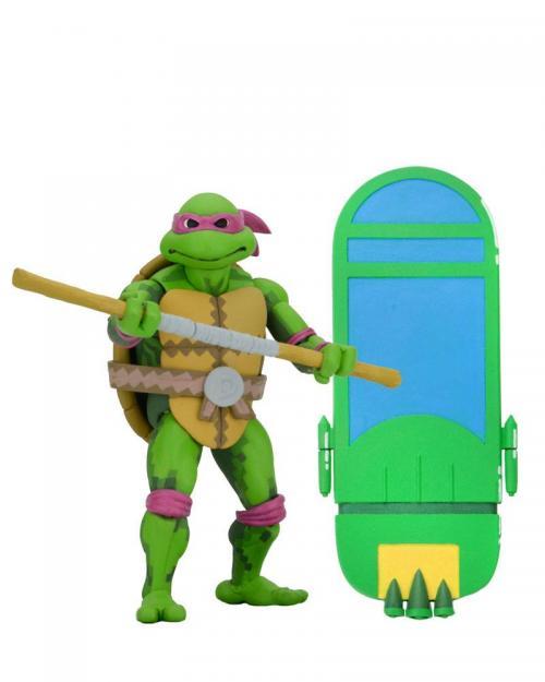 TORTUES NINJA - Donatello - Figurine Turtles in Time 18cm