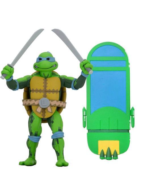 TORTUES NINJA - Leonardo - Figurine Turtles in Time 18cm