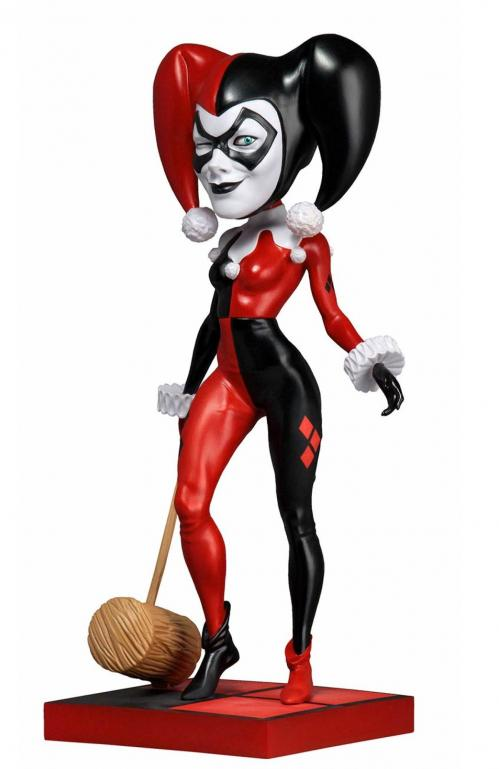 DC COMICS - Harley Quinn - Figurine Head Knocker 20cm
