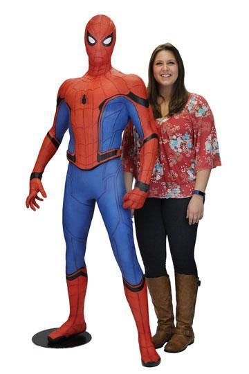 MARVEL - Spiderman 'Homecoming' Life-Sized Replica (Foam) - 173cm