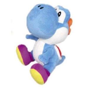 NINTENDO - SUPER MARIO - Peluche YOSHI BLUE 16 Cm