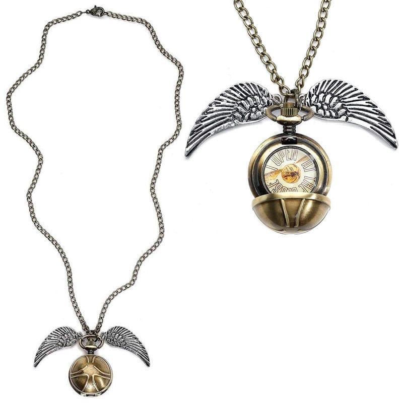 HARRY POTTER - 3D Snitch Locket Necklace_3