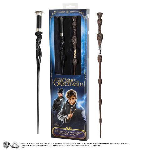 FANTASTIC BEASTS - Baguettes Dumbledore + Grindelwald Blister