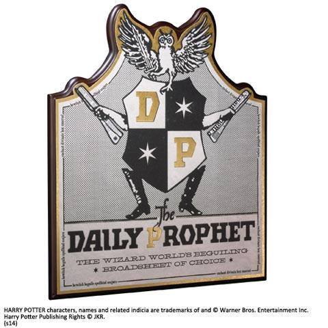 HARRY POTTER - Plaque Murale Daily Prophet_1