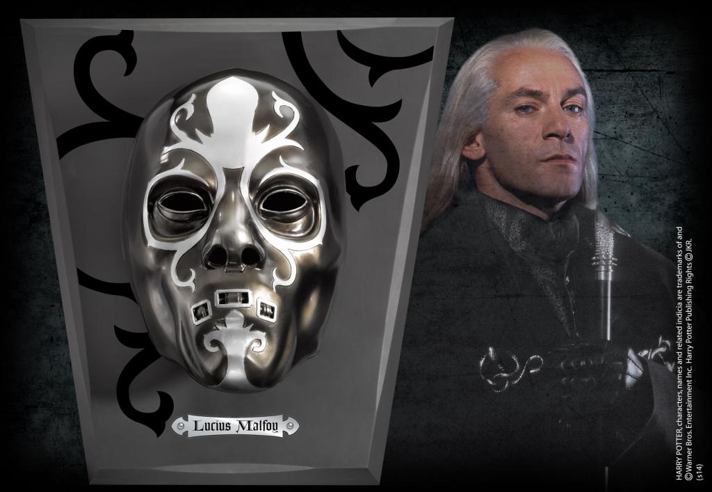 HARRY POTTER - Masque de Lucius Malefoy - 28cm