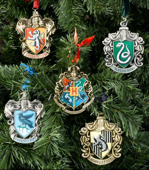 HARRY POTTER - Set de 5 ornements de Noël