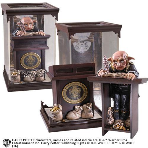 HARRY POTTER - Figurine Créature Magique 10 - Gringotts Goblin