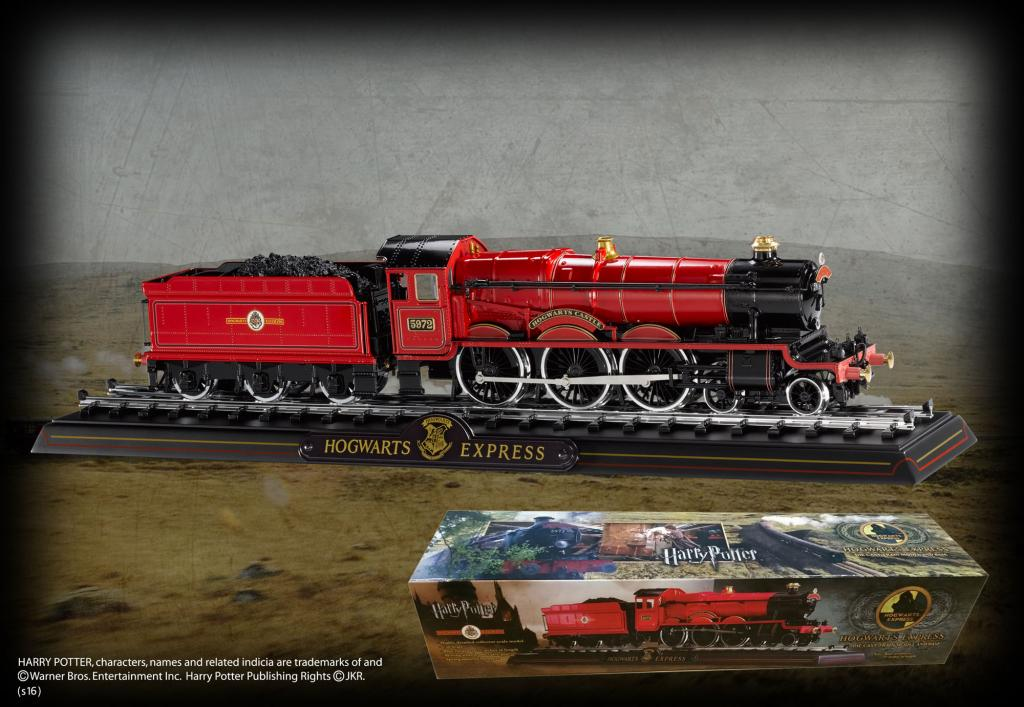HARRY POTTER - Poudlard Express - Métal Moulé 53cm_1