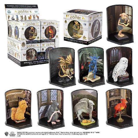 HARRY POTTER - Cubes Mystères Créatures Magiques 02 - Display 8 pcs
