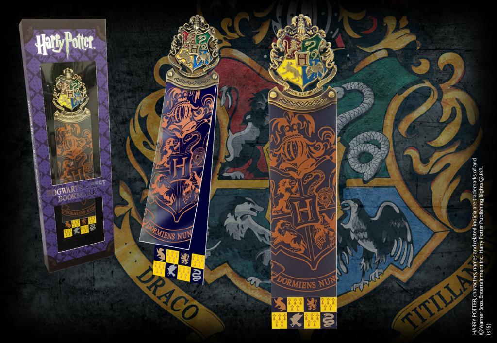 HARRY POTTER - Marque-page Entête Hogwarts