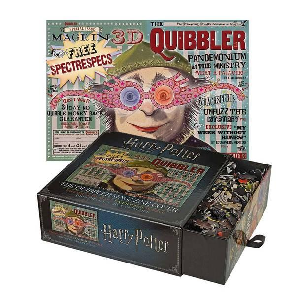 HARRY POTTER - Puzzle 1000 pcs - Couverture du magazine le Chicaneur