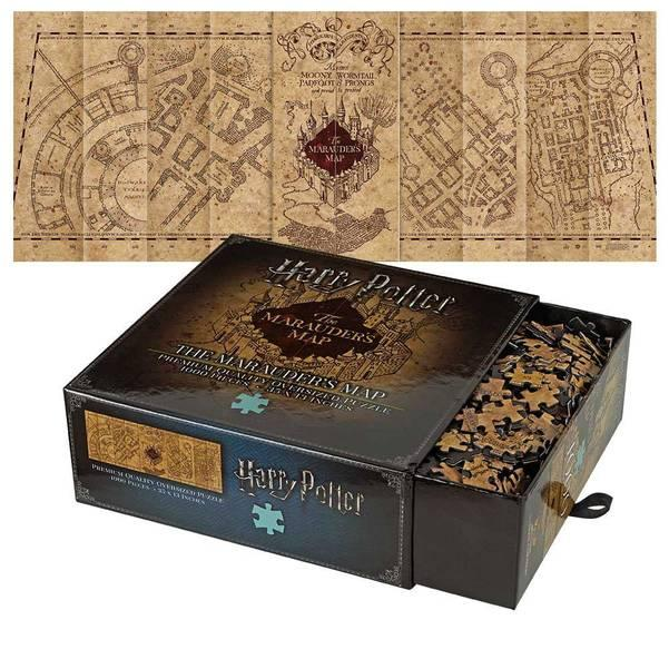 HARRY POTTER - Puzzle 1000 pcs - Carte du Maraudeur_1