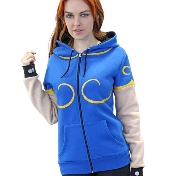STREET FIGHTER - Chun-Li Hoodies (S)