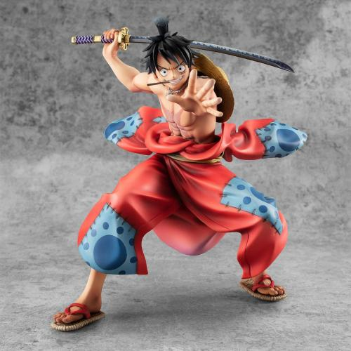 ONE PIECE - Statue PVC MegaHouse P.O.P - Warriors Alliance Luffy Taro