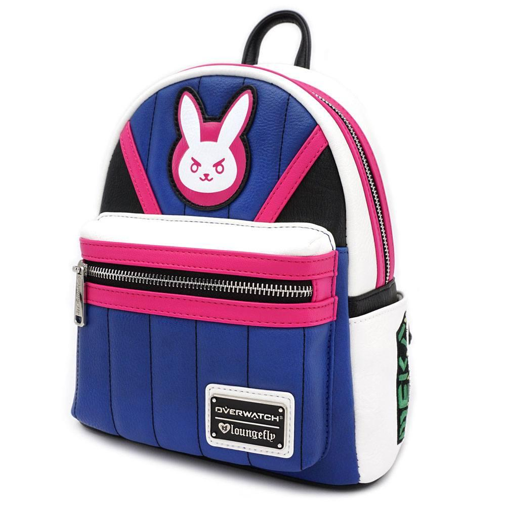 OVERWATCH - D.VA Blue Mini Backpack 'LoungeFly'