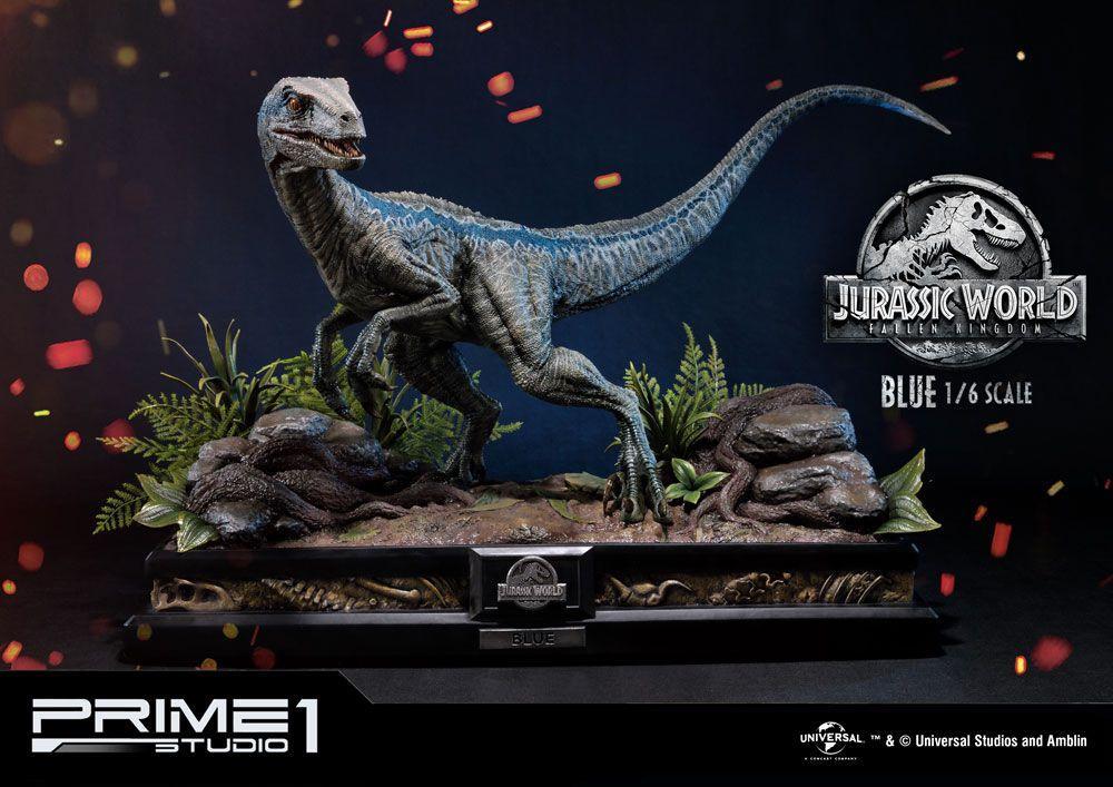 JURASSIC PARK - Premium Format Figure - Jurassic World - Blue - 40cm