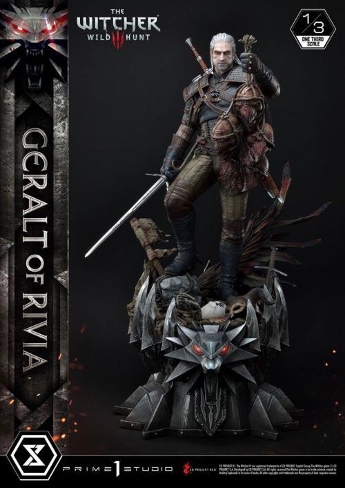 THE WITCHER III - Wild Hunt - Geralt Von Riva  - Statuette P1 88cm