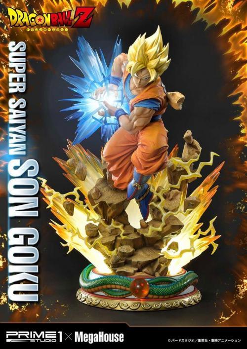 DRAGON BALL Z - Statuette 1/4 - Super Saiyan Son Goku - 64cm
