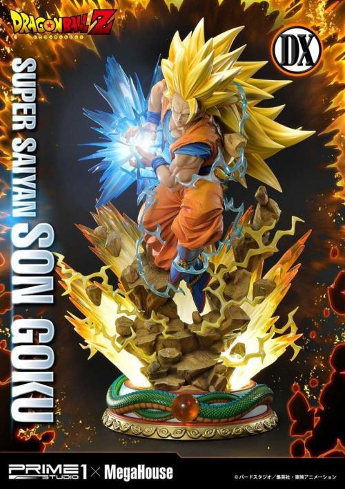 DRAGON BALL Z - Statuette 1/4 - Super Saiyan Son Goku Deluxe - 64cm