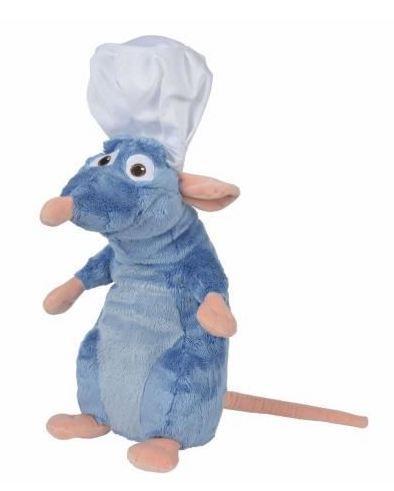 DISNEY - Peluche Ratatouille : Remy avec Toque de chef - 43cm